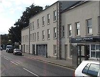 J4844 : Commercial premises in St Patrick Avenue, Downpatrick by Eric Jones
