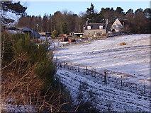 NJ6102 : Wester Beltie farmhouse by Stanley Howe