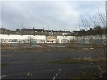 SJ8545 : Newcastle-under-Lyme: former car dealership (2) by Jonathan Hutchins