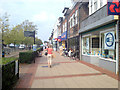 SP1179 : Shopping on Stratford Road, Shirley by Robin Stott