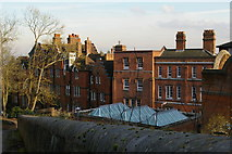 TQ1587 : Harrow School buildings on Grove Hill, from the path to the church by Christopher Hilton