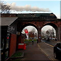SO8455 : Union of South Africa on a viaduct in Worcester by Jaggery