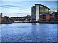 SJ8096 : South Bay, Salford Quays by David Dixon