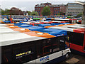 SX9292 : Bus parking, Exeter bus station by Robin Stott