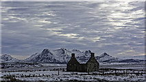 NC5160 : Moine House in Winter by Peter Moore