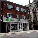 SY6990 : Oxfam shop in Dorchester by Jaggery