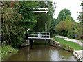 SJ9686 : Turflea Lift Bridge near Strines, Stockport by Roger  Kidd