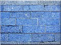 NZ2564 : (Part of) Blue Carpet Square by Mike Quinn
