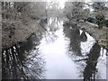 TQ0482 : River Colne nr. Uxbridge - winter time by Rob Emms