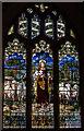 TQ4744 : East Window, St Peter's church, Hever by Julian P Guffogg