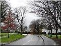 SJ3673 : Cyclist heading west on Capenhurst Lane by Christine Johnstone