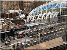 SJ8499 : Redevelopment of Victoria Station (January 2015) by David Dixon