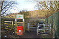 SJ8047 : Silverdale Country Park: entrance off Scot Hay Road by Jonathan Hutchins