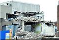 J3372 : The Bernard Crossland Building (demolition), Belfast - January 2015(2) by Albert Bridge