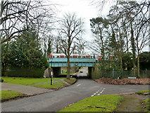 TQ0893 : Metropolitan Line bridge MR69 by Robin Webster