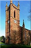 NY4057 : St Michael's Church Tower by Mary and Angus Hogg