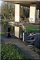 SK5680 : Haggonfields Lock, top gate by Alan Murray-Rust