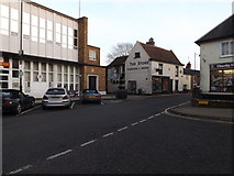 TM3863 : B1121 High Street, Saxmundham by Adrian Cable