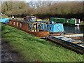 TQ0586 : Canal boats near Denham Lock by Alan Hunt