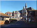 SX9473 : View across Mere Lane to the United Reformed Church from Alberta Court, Teignmouth by Robin Stott