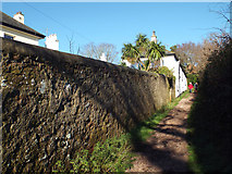 SX9473 : Footpath No.5 north from Second Drive, Teignmouth by Robin Stott