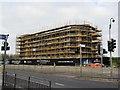 TQ7769 : Premier Inn (under construction) by David Anstiss