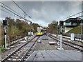 SD8010 : Metrolink Tram Approaching Bury by David Dixon