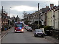 ST2999 : Emergency fire engine, Stafford Road, Griffithstown, Pontypool by Jaggery