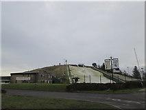 SE0927 : Dry ski slope at Pule Hill by John Slater
