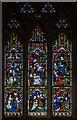 TQ8109 : Apse N. Stained glass window, Holy Trinity church, Hastings by Julian P Guffogg
