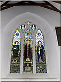 TM4261 : St.Lawrence Church Stained Glass Window by Adrian Cable