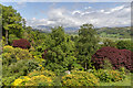 SD1096 : Garden, Muncaster Castle, Cumbria by Christine Matthews