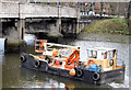 "J3371 : The ""Cuan Spirit"", River Lagan, Stranmillis, Belfast - January 2015(2) by Albert Bridge"