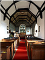 TM4160 : Inside of St.Mary the Virgin Church, Friston by Adrian Cable