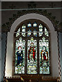 TM4160 : Stained Glass Window of St.Mary the Virgin Church, Friston by Adrian Cable