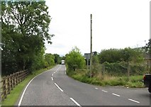 J0125 : Hall Road from opposite the entrance to the Sturgan Covered Reservoir by Eric Jones