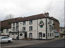 SE5613 : The Crown Hotel, Askern by John Slater