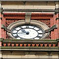SJ9494 : Hyde Town Hall Clock Face by Gerald England