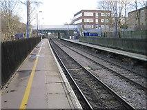 TQ1585 : Sudbury Hill Harrow railway station, Greater London by Nigel Thompson