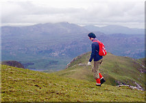 NC5748 : Western ridge of Ben Loyal by Alan Reid