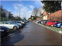 SJ8545 : Royal Stoke University Hospital: car park next to A34 by Jonathan Hutchins