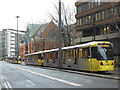 SJ8498 : Tram jam (2) by Stephen Craven