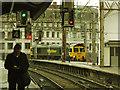 SJ8497 : Oxford Road station: light engine by Stephen Craven