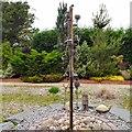 SJ6651 : Sensory garden feature by Gerald England