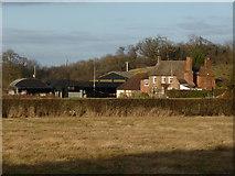 SO8843 : Dunstall Farm by Chris Allen