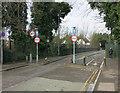 TQ1867 : King Charles' Road railway bridge by Hugh Venables