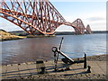 NT1380 : Anchor on the Town Pier, North Queensferry by M J Richardson
