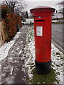TQ2258 : Epsom: postbox № KT18 155, Downswood by Chris Downer