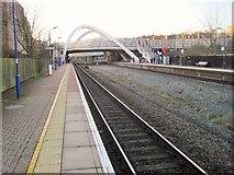 TQ1985 : Wembley Stadium railway station, Greater London by Nigel Thompson