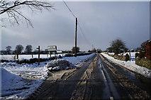 SK1971 : Minor road leading towards Little Longstone by Ian S